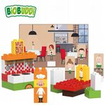 BiOBUDDi - Restaurant - Eco Friendly Block Set - 40 Blocks